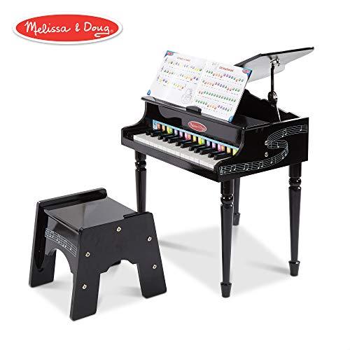 Melissa & Doug Grand Piano (Musikinstrument-Spielzeuge) (Doug Musikinstrumente Und Melissa)