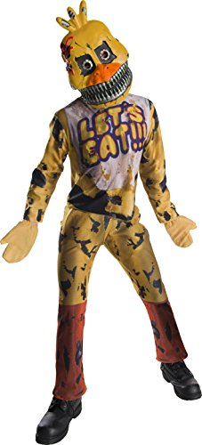 Five Nights At Freddy's Nightmare Chica Costume Child Large (Nightmare Freddy Kostüm)