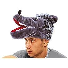 Gorro o Sombrero de Lobo gris