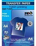 PPD Inkjet Transferpapier zum aufbügeln auf dunkle T-Shirts