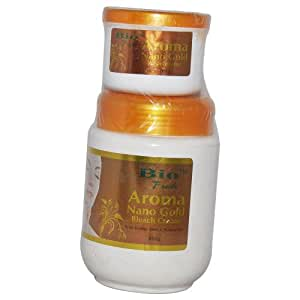 Bio Fresh Aroma Nano Gold Fairness Bleach Cream 800g With Aroma Nano Gold Accelerator 200g