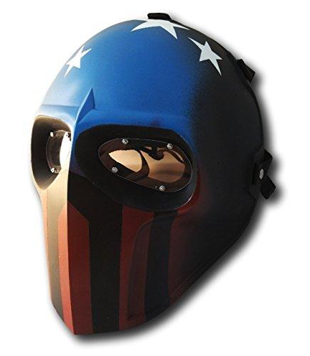 Softair Maske Army of Two schutzausrüstungen Outdoor Sport Fancy Party Masken BB (Gas Reales Maske)