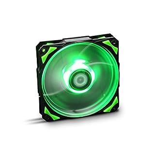 NOX– HFAN 12cm LED Fan green