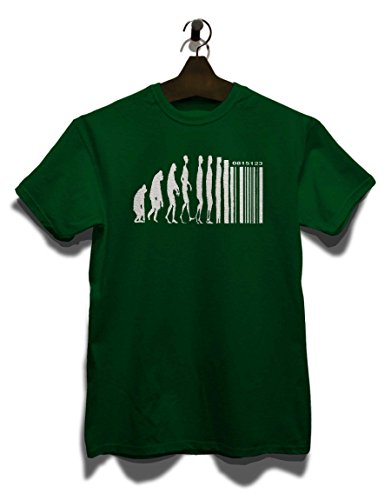 Evolution Digital T-Shirt Dunkel Grün
