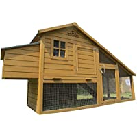Pets Imperial® Sandringham Extra Large Chicken Coop (223cm/7ft 3ins) Suitable For Up to 8 Birds Depending On Size
