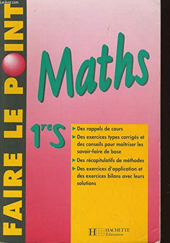 Maths, 1re S