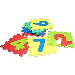 Idea Regalo - Vitamina G 05094 - Mattonelle Puzzle Numeri, 9 Pezzi