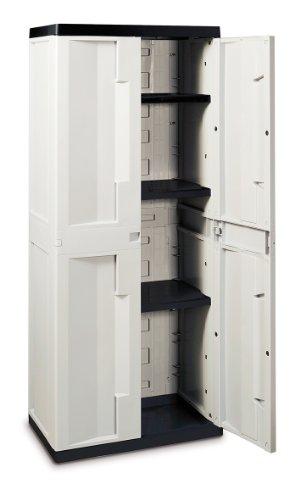 Toomax-Z289R027-Armadio-Entry-Line-M-Tuttopiani-68X42X170-GrigioNero