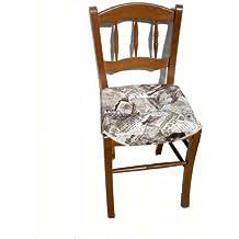 Amazon.it: Set 6 sedie in tessuto