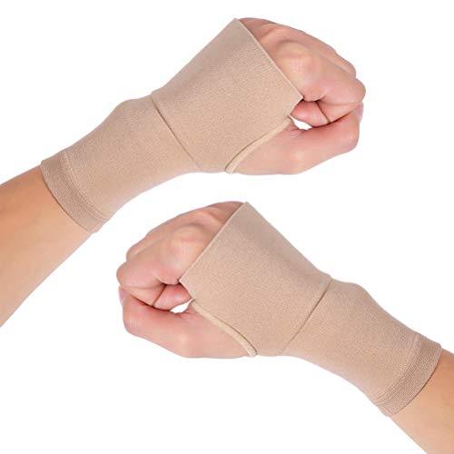Healifty Handschiene-Klammer 1 Para Karpaltunnel Handgelenk Ärmel Kompression Handstütze Unterstützung Hülse für Arthritis Tendinitis Bursitis Handgelenk Verstauchung (XL) -