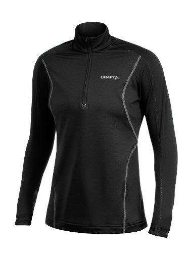 Craft Damen Funktionsbekleidung Light Stretch Pullover Women's Black