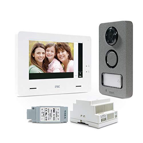 kit vidéo - 1 bp - mininote+ - urmet 1722/85
