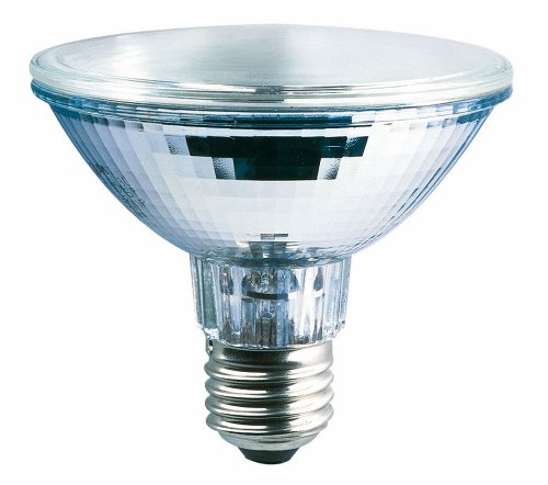 Osram 55700 Halopar 30 Superstar Lampadina alogena a forma di riflettore E27 in alluminio, Flood 60°, 64841, 75 W 230 V