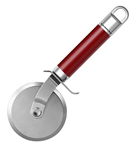 KitchenAid kgem3106er rotella tagliapizza, acciaio inossidabile, 13,4x 11,9x 13,4cm, Rosso Empire