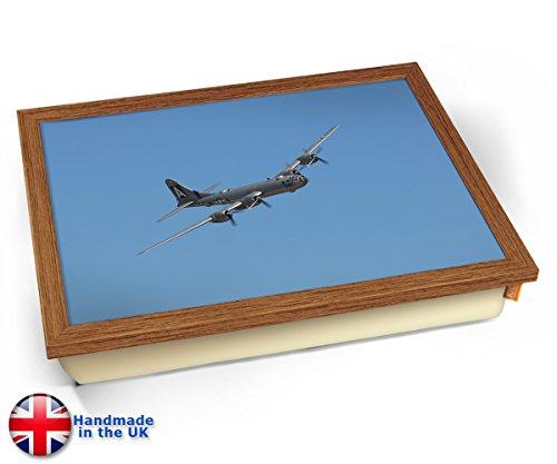 B 29 Superfortress Boeing Aviation Plane Cushion Lap Tray Kissen Tablett Knietablett Kissentablett - Holz Effekt Rahmen