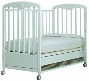 foppapedretti luccichino kinderbett wei baby. Black Bedroom Furniture Sets. Home Design Ideas