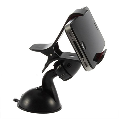 Shopcart Car Mobile Holder for Fly Evi Energy 1 Navigator Car Mobile Holder Stand | Premium 360 ° Degree Rotable Mobile Phone & GPS Device Holder For Desk Mount | Car Windshield | Car Dashboard | Working Desks | Best Quality Lower Price Car Mobile Holder Stand Mount | Premium Touch One Adjustable Car Mobile Holder - Black  available at amazon for Rs.299