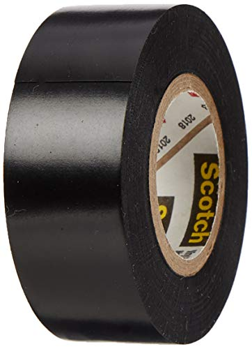 3M 80610833867 88 Scotch Super Elektro Isolierband, Vinyl, 19 mm x 20 m