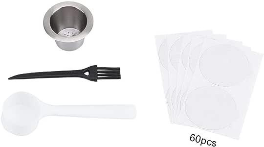 5# Duokon Coperchi in Alluminio termoresistenti Adesivi monouso Collettori Sanitari in plastica per Capsule