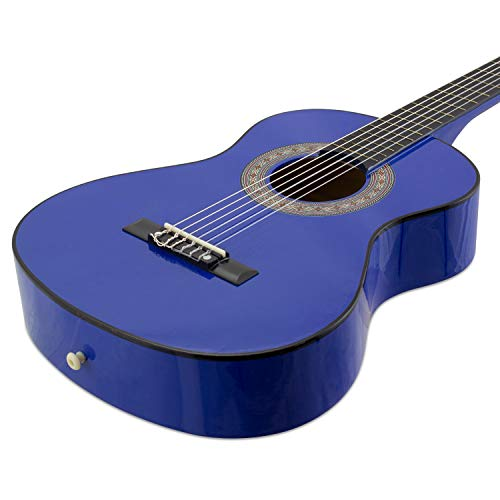 Tiger CLG6-BL Guitare Classique 1/2 Bleu