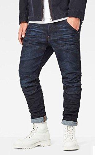 G-STAR RAW Herren Slim Jeans Blau (3D Cobler Processed 8960)