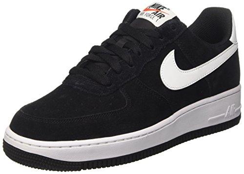 Nike Air Force 1, Scarpe da Ginnastica Uomo, Nero (Black/White/Black), 42 EU
