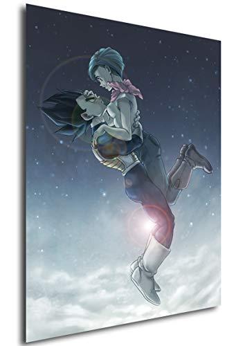 Poster Dragon Ball (E) - Vegeta & Bulma - A3 (42x30 cm)