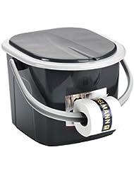 Branq Toilette 15.5 Liter Campingtoilette Toiletteneimer Reisetoilette Outdoor