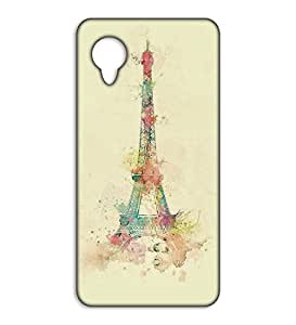 Happoz eifill tower art work pouches for Google Nexus 5 accessories mobile back Cute phone cases for Guys Girls hard plastic Z415