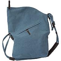 FunYoung Borsa a tracolla unisex tracolla vintage scelta del colore della tela Bag Mesenger (Piccola Tela Totes)