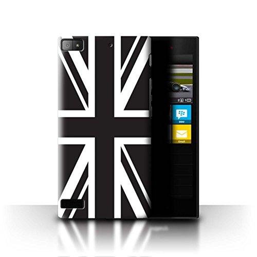 Stuff4® Hülle/Case für BlackBerry Z3 / Union Jack Flagge Muster/Großbritannien/Britischer Stolz Kollektion