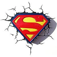 3DLIGHTFX - Lámpara 3D Superman Logo