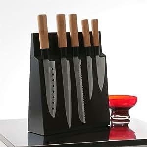 Pradel - Bloc 5 couteaux avec façade aimantée KYOTO