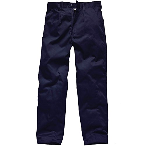"Dickies Hose ""Reaper"", TR41500,GR 38T, Größe 110, Grün, blau, TR41500 NV 32S (Hose Uniform Dickie)"