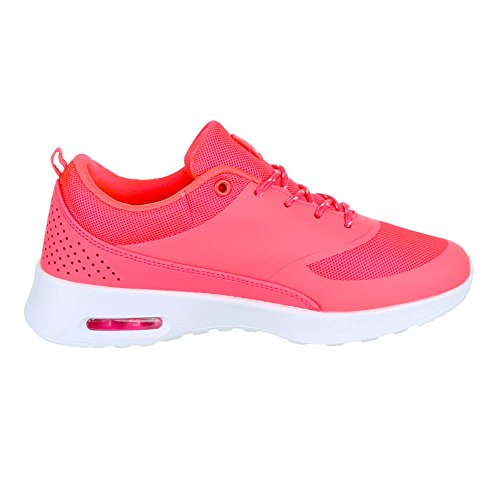 Ital-Design, Sneaker donna rosa - rosa