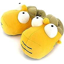 Simpsons Hausschuhe Größe 37-40 Homer Simpson Slipper 3D Schuhe Pantoffeln