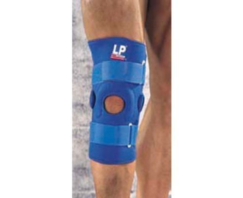 LP SUPPORTS Hinged Knee Support With Vertical Buttress , XS by LP Supports
