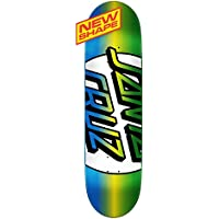 Santa Cruz Skate Big Missing Lunares Taper Punta 8,25en X 32,0en–Tabla de Skate