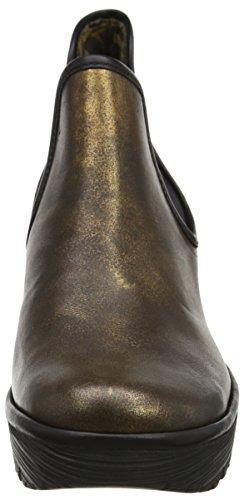 Fly London Yat - Stivaletti Donna Marrone (Bronze/black 025)
