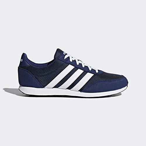Adidas V Racer 2.0, Zapatillas de Running para Hombre, Azul Dark Blue/FTWR White/FTWR White Dark Blue/FTWR...