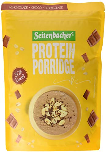 Seitenbacher Porridge Schoko - Dein warmes Frühstück mit 28{3db36a34799c5313b7e56587fe48dba340c1a8847b84a7d62671cf3300f680bc} Protein, 2er Pack (2 x 500 g)
