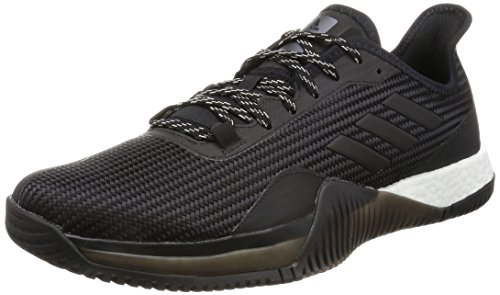 adidas Herren Crazytrain Elite M Laufschuhe, Mehrfarbig (Core Black/Night Met. F13/Core Black), 43 1/3 EU (Herren-elite-polyester)