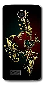 FROST IMAGES High Quality Silicon Printed Designer Back Cover for LYF Flame 7