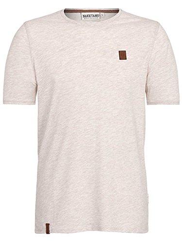 Naketano Male T-Shirt Italienischer Hengst V nasty oma melange