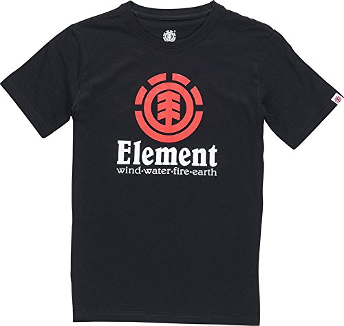 T-Shirt Element Vertical Flint Nero (M , Nero)