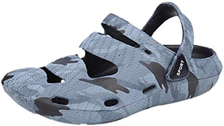 Sandalias y Chanclas Respirable de Playa para Hombre, QinMM Casual Zapatos de Baño Verano Flip Flops