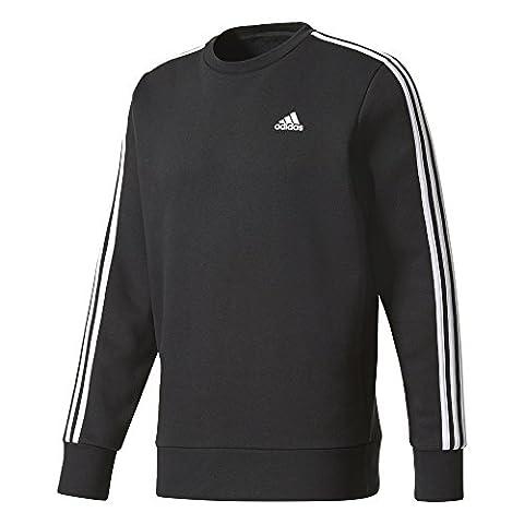 Adidas Essentials 3Bandes pour Crew B pour 3XL noir/blanc