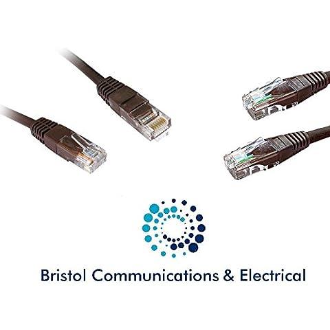 10m cavo Ethernet/Cavo Rete/cat5epatch/Vari colori/Grigio/Arancione/Blu/Verde/Nero/Colore rosa/rosso/viola/bianco/marrone/giallo
