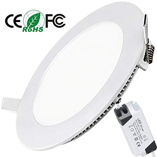 Placa LED Circular Super Slim Downlight LED Energía Empotrable Placa Techo 15W 3000k Blanco Cálido 220V XYD®