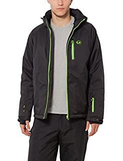Ultrasport Everest Veste de Ski Homme, Noir/Vert, Large (B00565XJ6Q) | Amazon price tracker / tracking, Amazon price history charts, Amazon price watches, Amazon price drop alerts